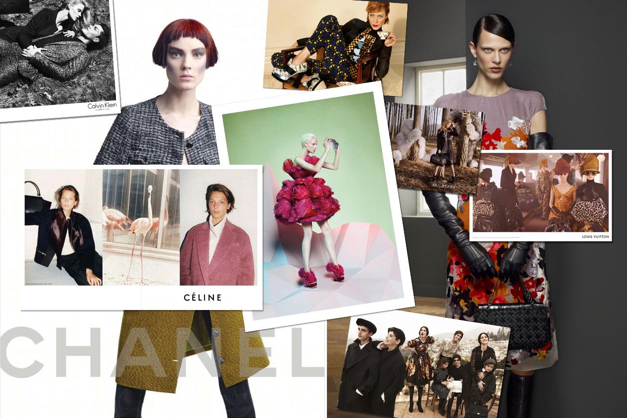 Campagne pubblicitarie a/i 2012-13: le foto più belle che anticipano l'autunno