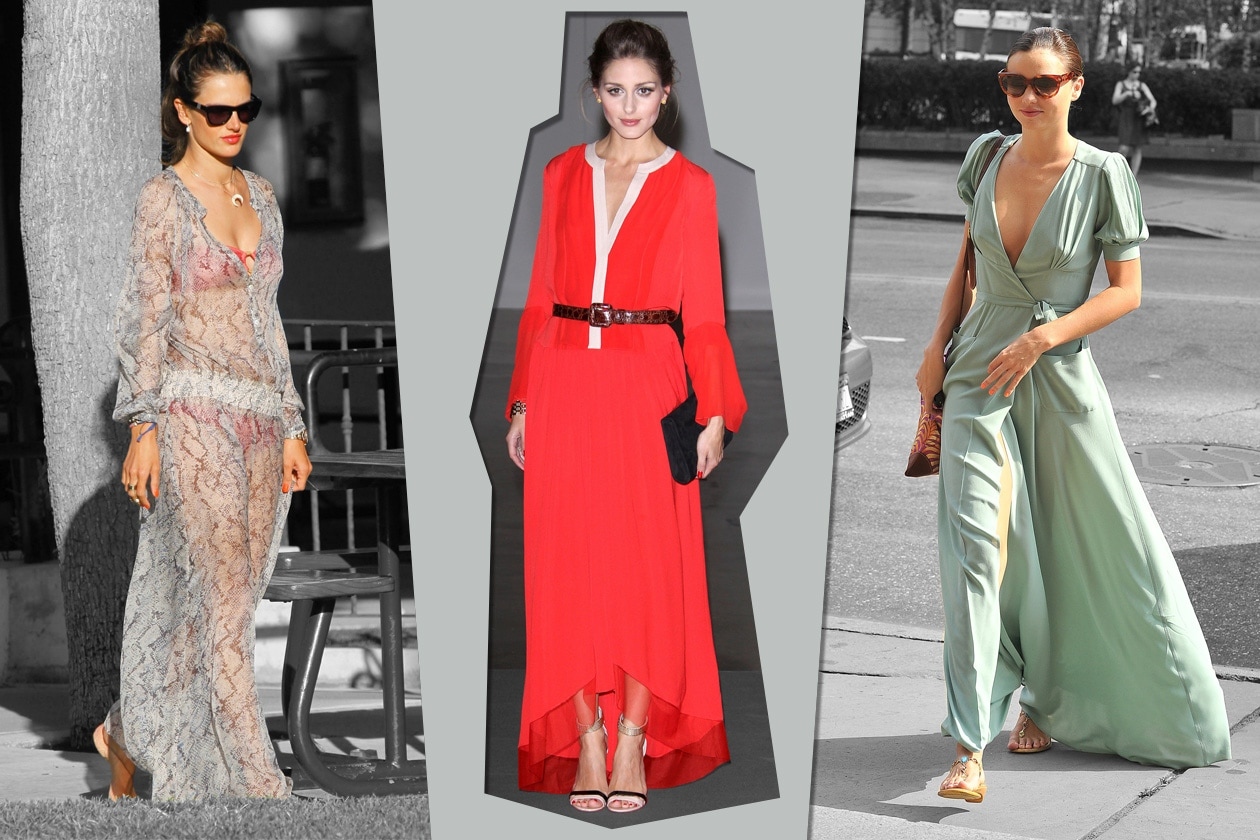 Star in long dress: chi lo indossa meglio?