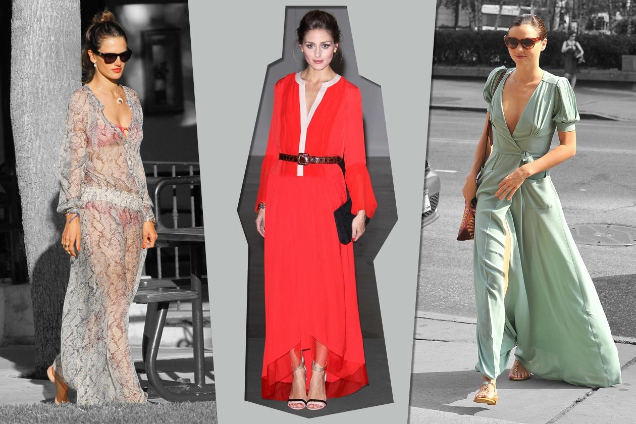 Star in long dress: chi lo indossa meglio?