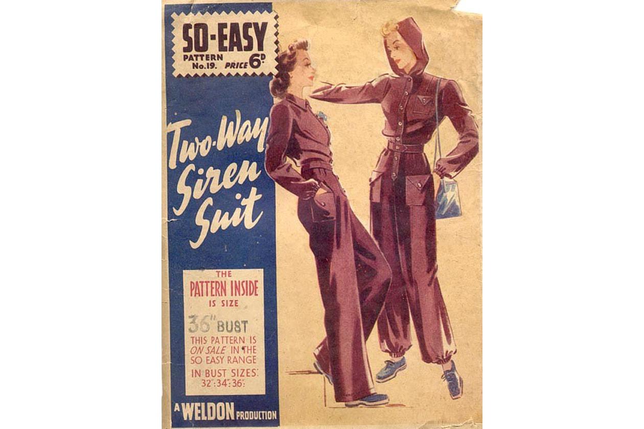 2.Shelter suit Elsa Schiaparelli 1940