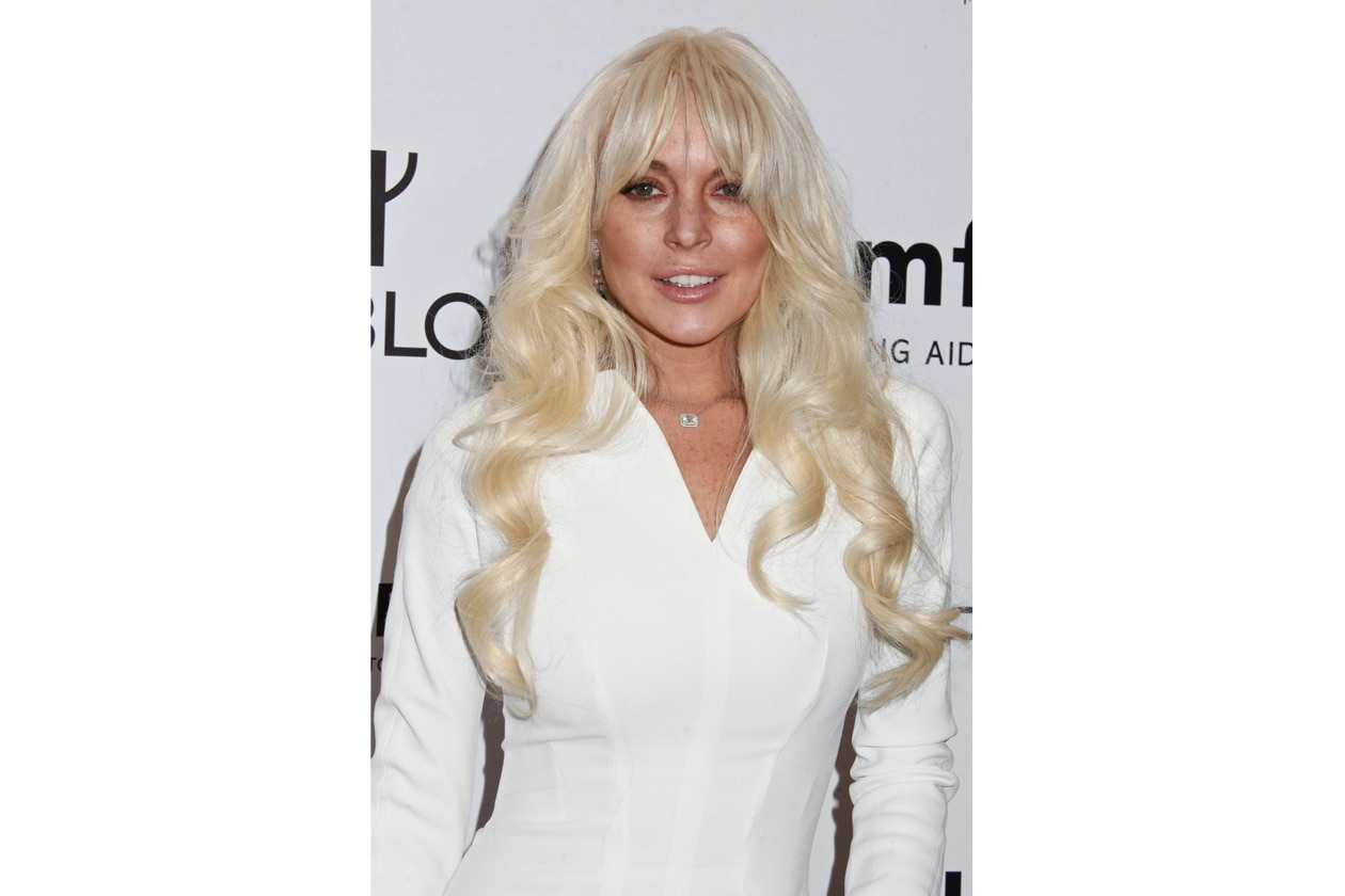 9 Beauty LinsayLohan LINDSAY LOHAN AMFAR BENEFIT GALA, NEW YORKfeb2012 1260×840