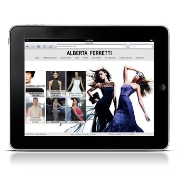 Alberta Ferretti rilancia il sito