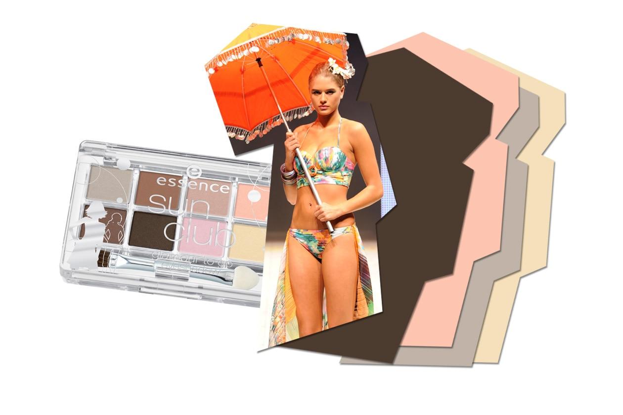 Alla proposta di Maryan Mehlonr accostiamo la palette di Essence Sun Club che spazia dai caldi toni dorati ai rosa e ai marroni più freddi