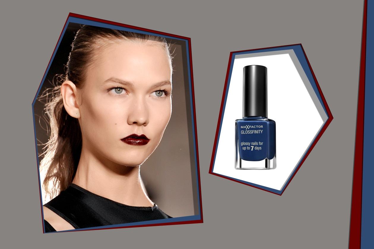 Anthony Vaccarello P/E 2012 – Max Factor GlossFinity Cobalt Blue