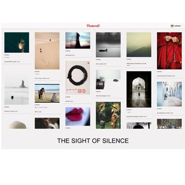 Aspesi e Pinterest insieme per rappresentare il Silenzio