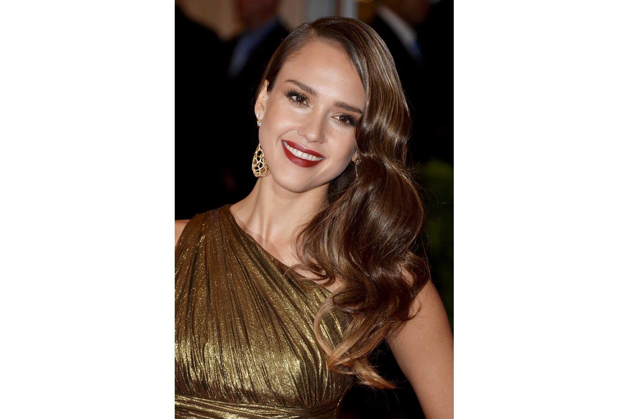 Beauty Red carpet Jessica Alba