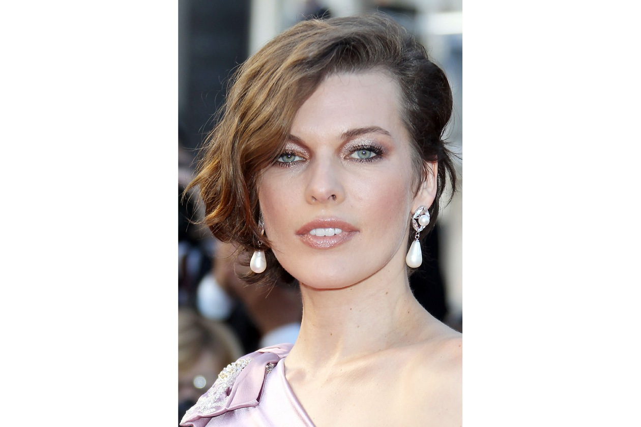 Beauty Red carpet Milla Jovovich