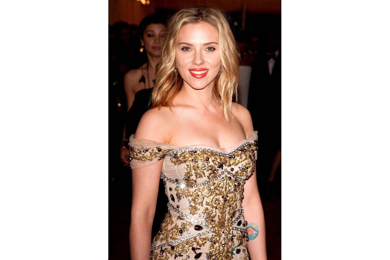 Beauty Red carpet Scarlett Johansson