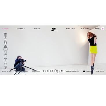 Courrèges torna con una boutique online esclusiva