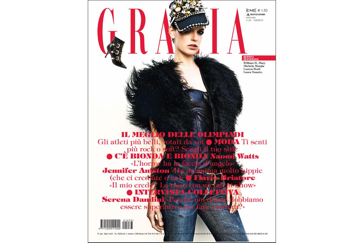 Grazia copertina 33 2012