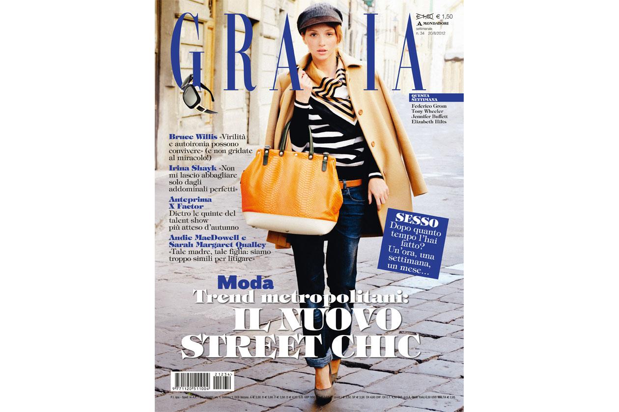 Grazia copertina 34 2012
