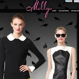 Milly lancia l'e-shop, anche in Italia