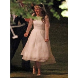 Natalie Portman sposa in Rodarte