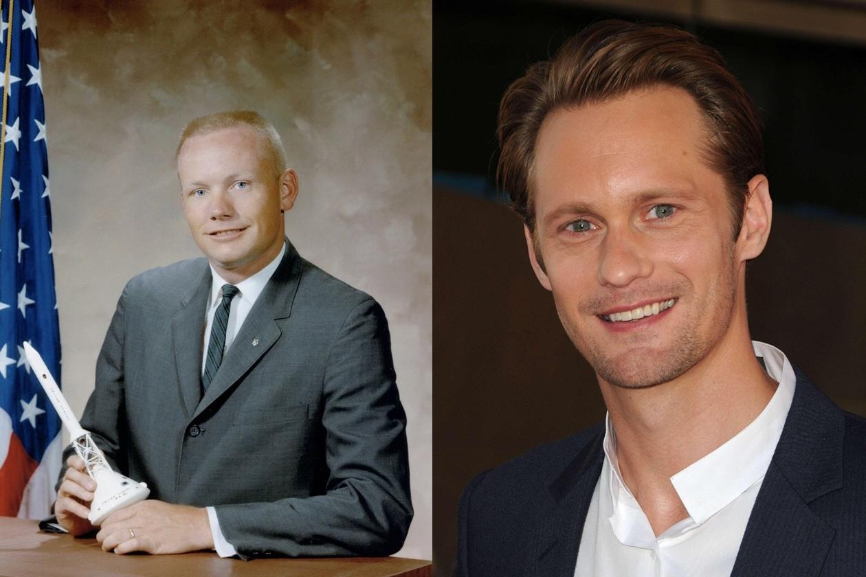 Neil Armstrong – Alexander Skarsgård