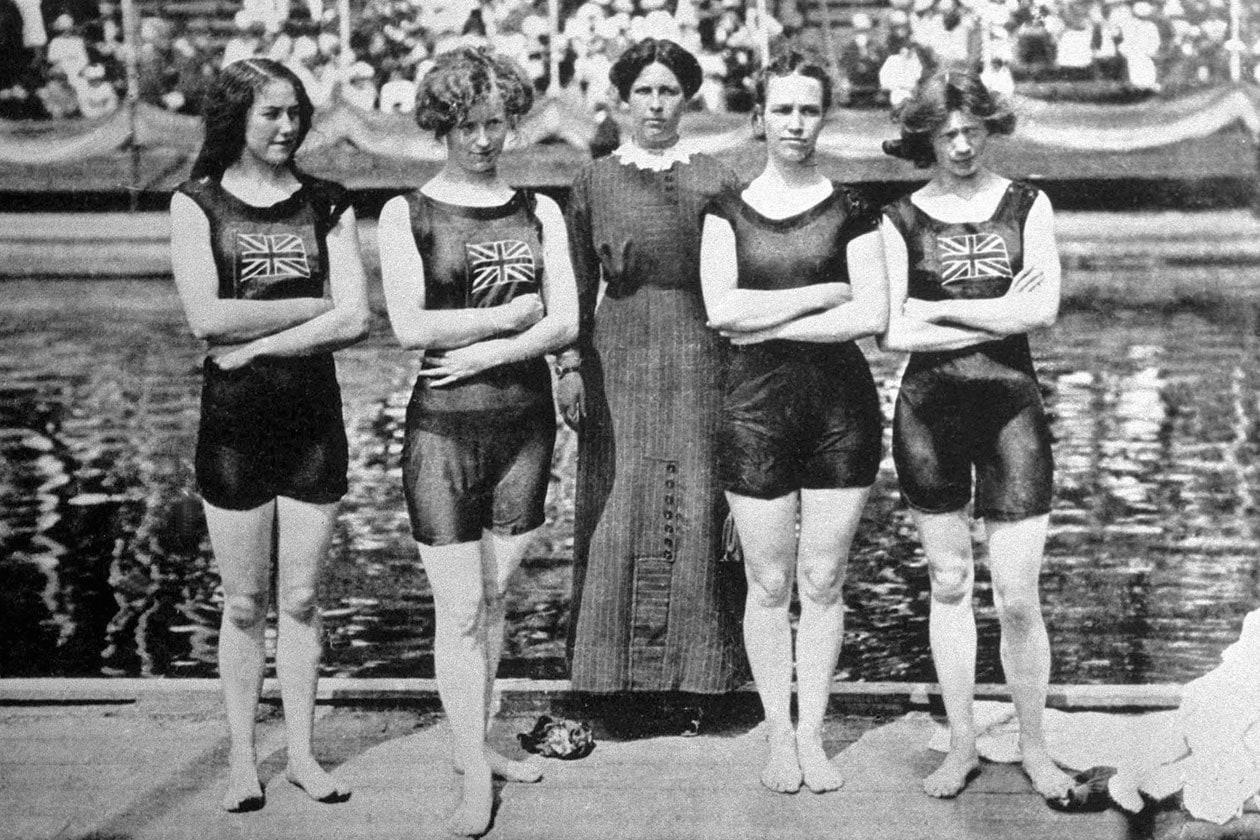 Stoccolma 1912 Nuoto