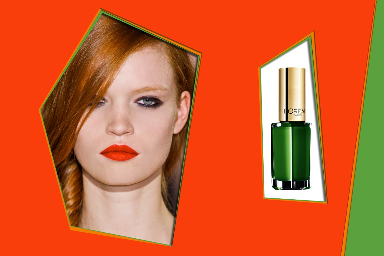 Thierry Colson P/E 2012 – L'Oréal Color Riche Green Couture