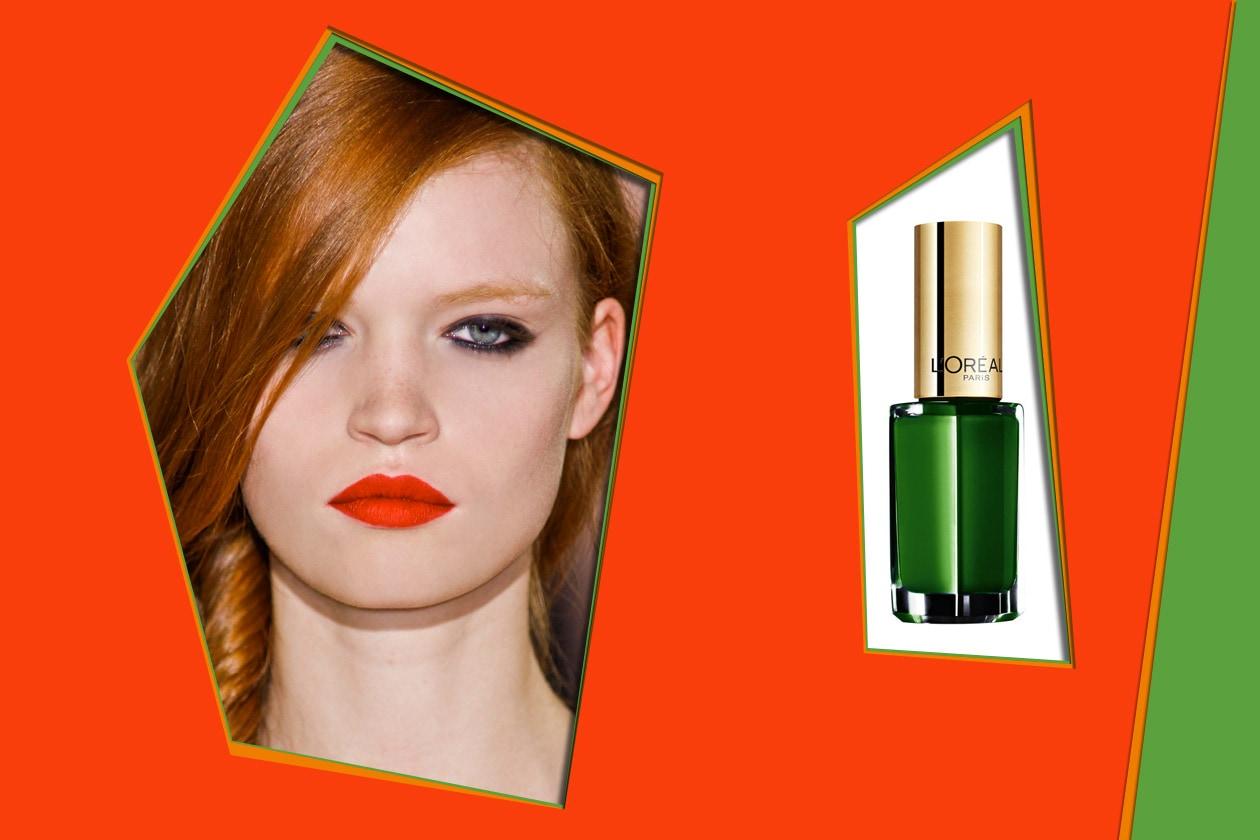 Thierry Colson P/E 2012 – L'Oréal Color Riche Green Couture
