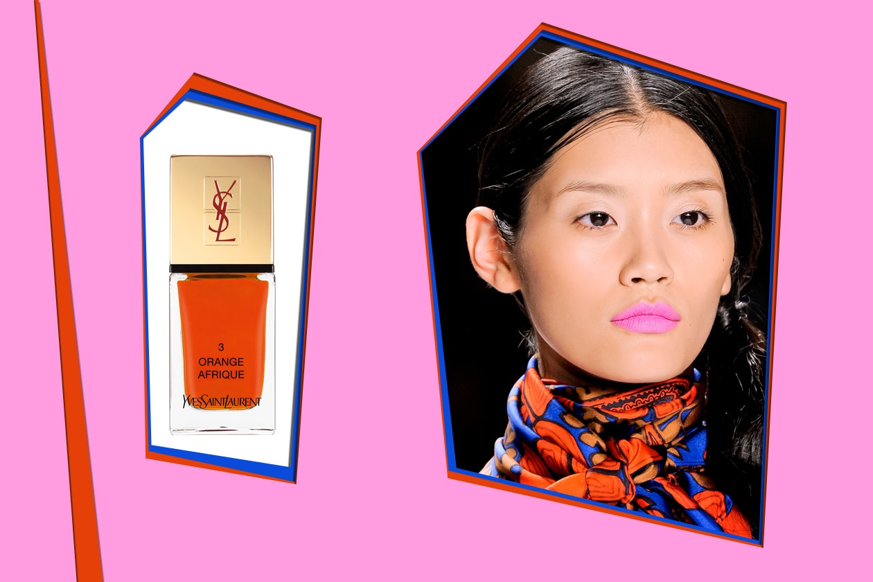 Yves Saint Laurent Orange Afrique – Milly P/E 2012