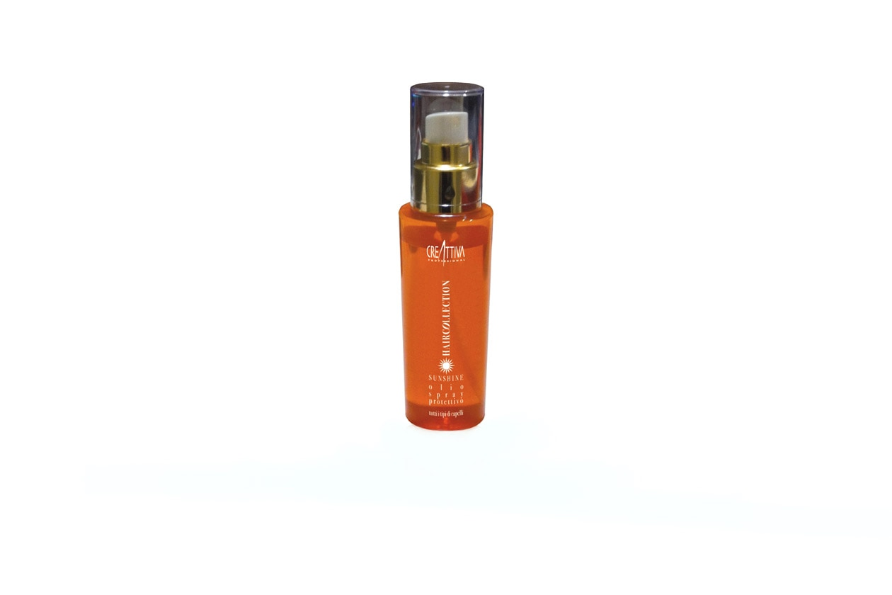 creattiva sunshine olio protettivo