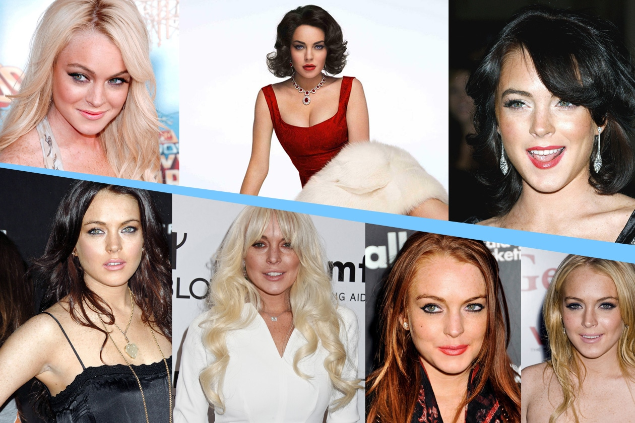 Capelli: Lindsay Lohan e i suoi cambiamenti di stile