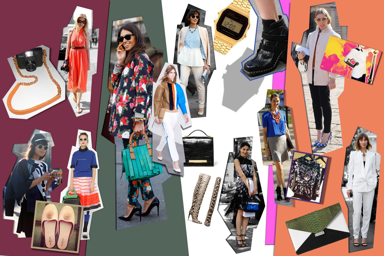 0 Fashion Week ssential Collage