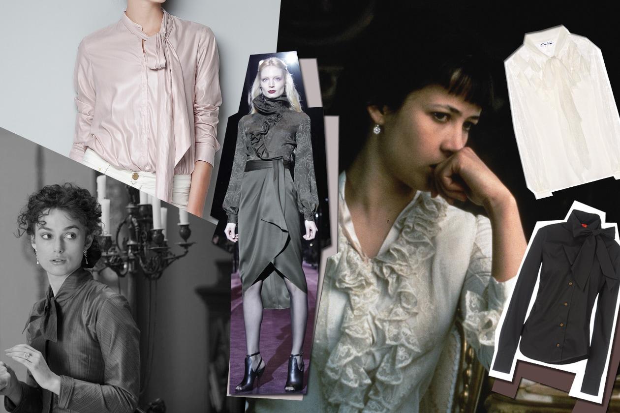 Anna Karenina camicette fiocchi