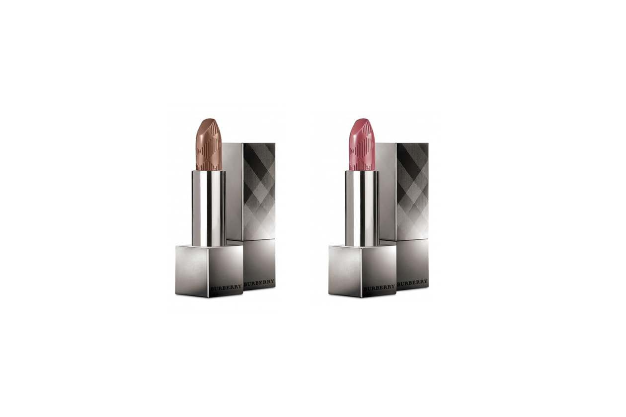 Burberry beauty lipcover sepia pink