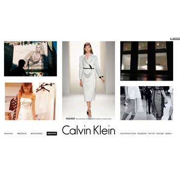 Calvin Klein e Fashgif per la collezione donna