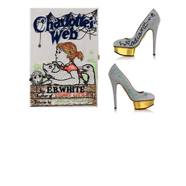 Charlotte Olympia e Olympia Le-Tan limited edition