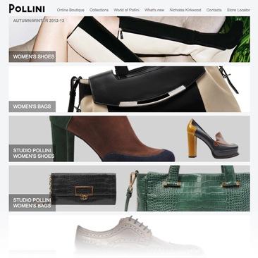 Debutta l'e shop di Pollini