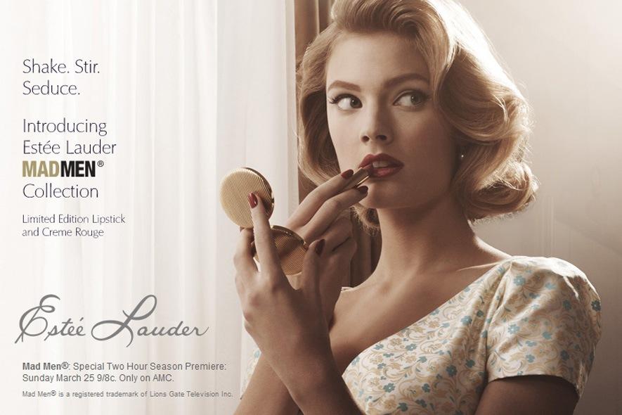 Estee Lauder for Mad Men Makeup collection