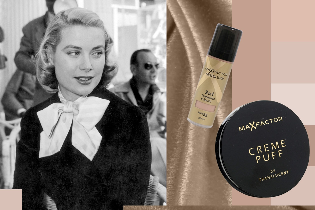 Grace Kelly ageless elixir creme puff max factor