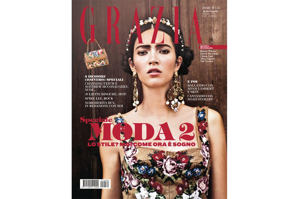 Grazia copertina 39 2012