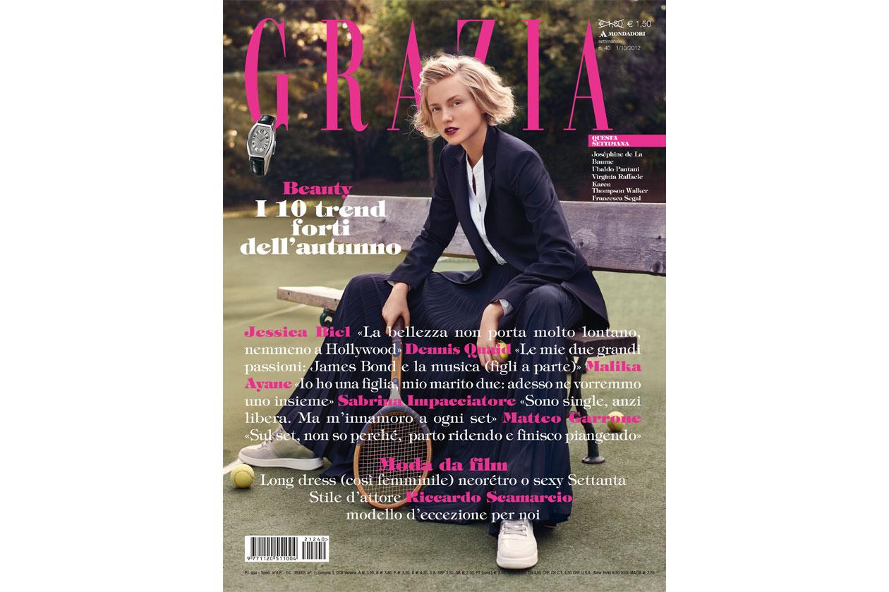 Grazia copertina 40 2012