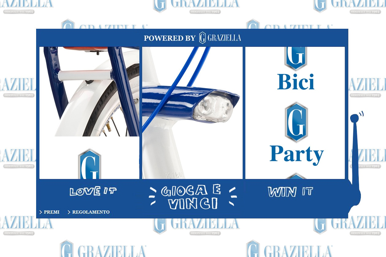 Vinci Graziella (e il party) con Grazia.it!
