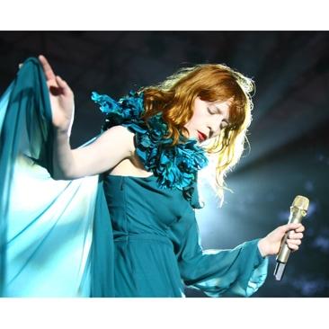 Gucci e Florence all'Art + Film Gala 2012