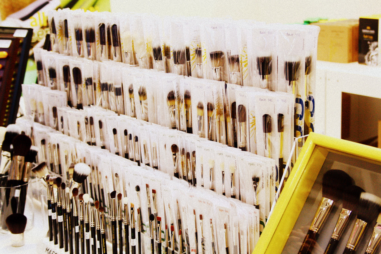 I pennelli del brand Bdellium sono antibatterici
