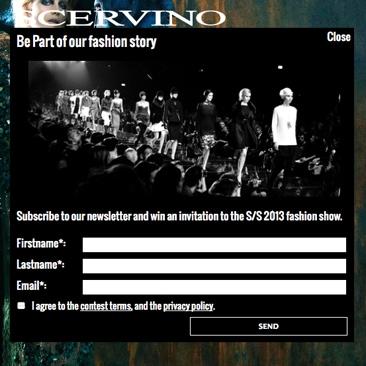 Il concorso di Scervino: Be part of our fashion story