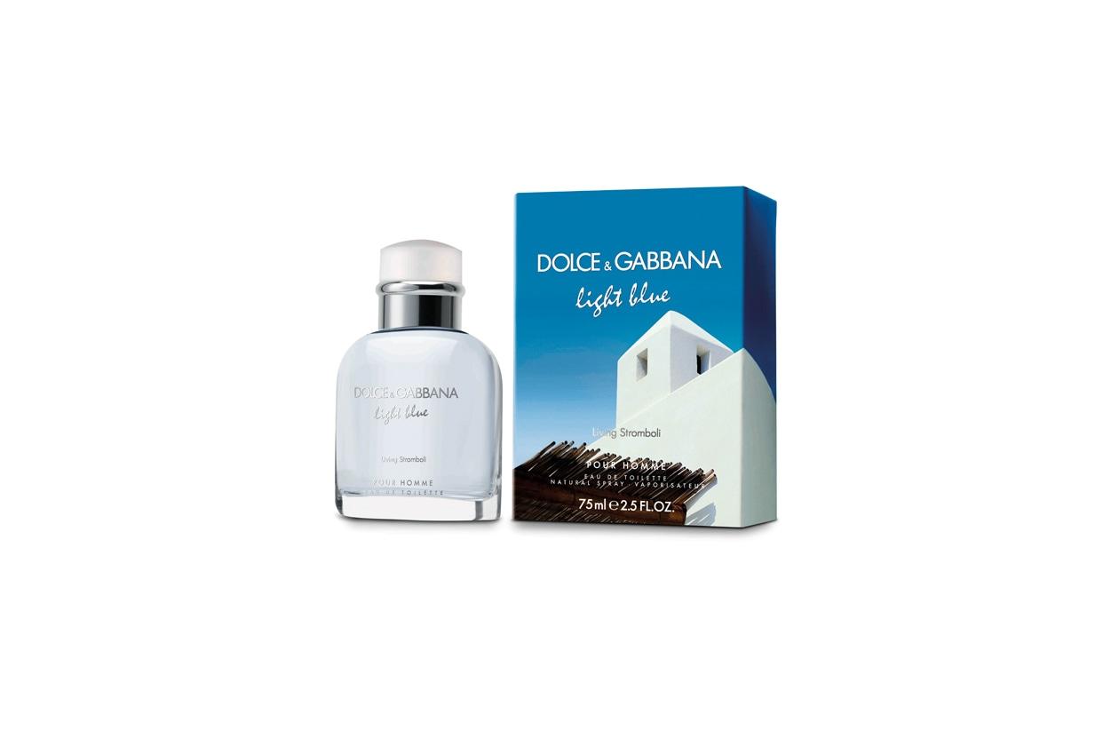 La nuova versione estiva del Light Blue di Dolce & Gabbana unisce freschezza e sensualità per una eau de toilette marina