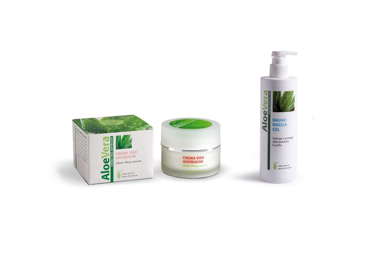 Laboratorio della Farmacia propone una crema viso che aiuta a contrastare in maniera evidente l'invecchiamento cutaneo e un gel doccia