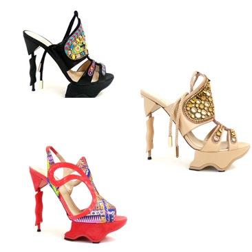 Matthew Williamson: ecco le prime calzature