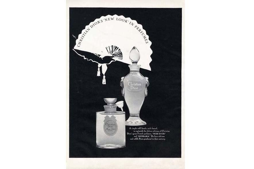 Miss Dior antique campaign