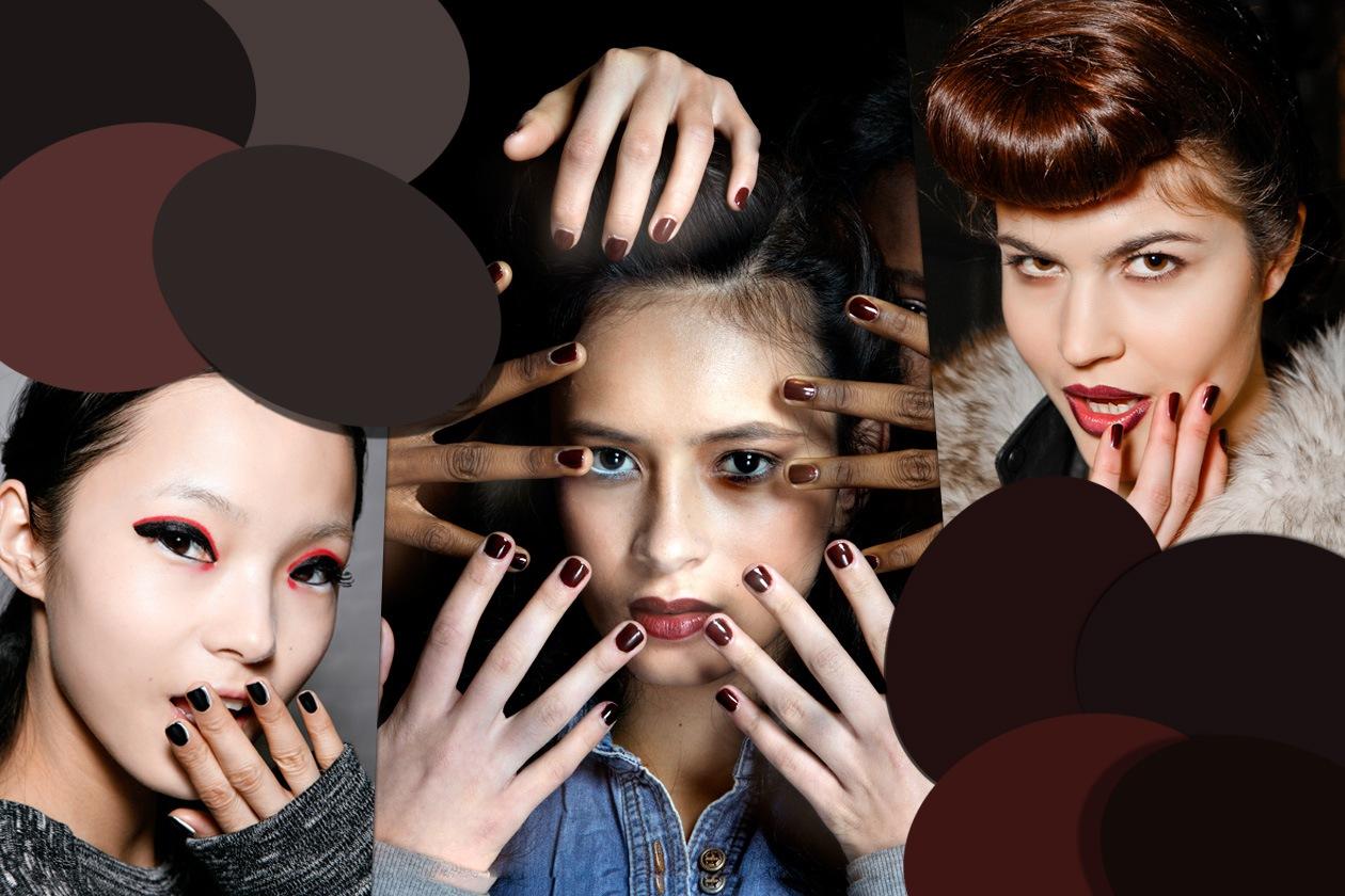 Trasgressive e dall'anima rock: le unghie dark ritornano di moda e lo fanno in grande stile