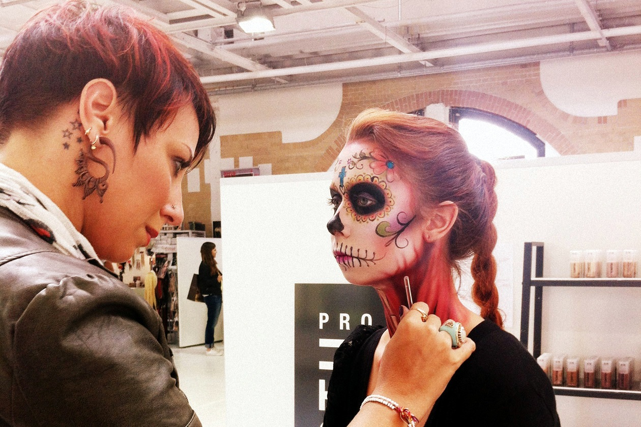 Trucchi scenografici per un trionfo di colori al The Make Up Show Europe