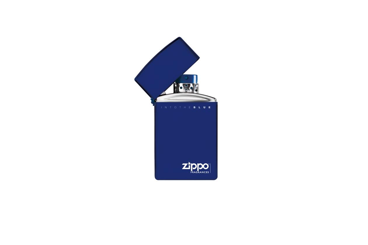 Zippo Into the blue è una fragranza caratterizzata da una nota maschile molto delicata e fresca