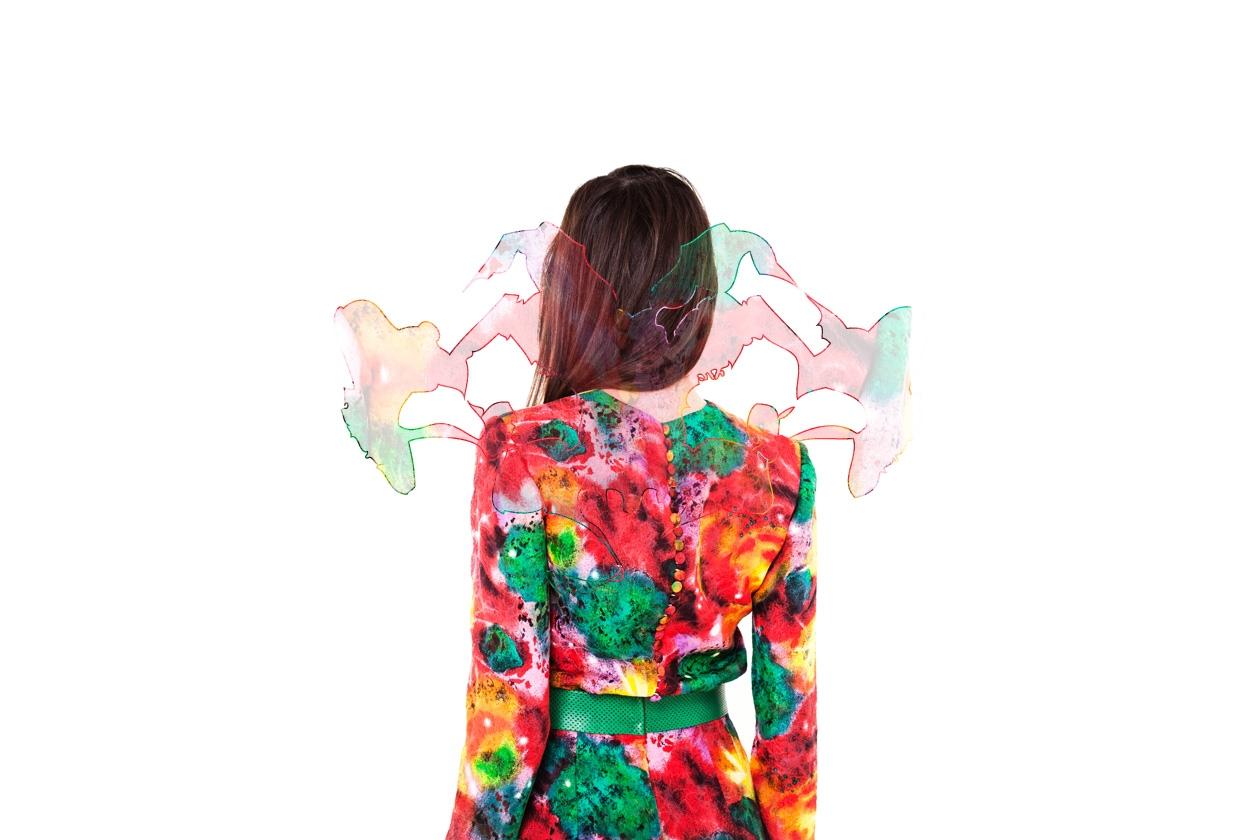Caterina Gatta abito floreale