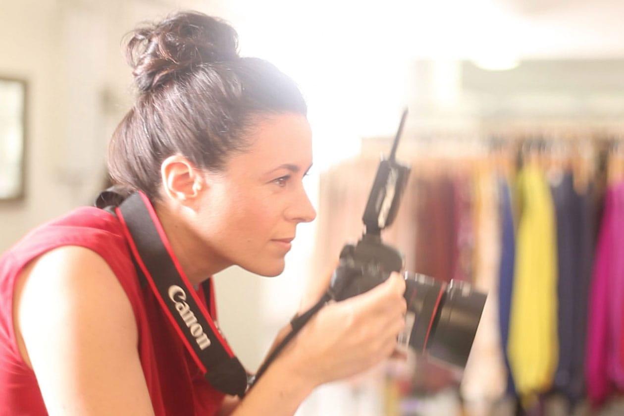 Garance Doré che fotografa