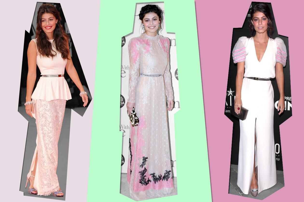 Alessandra Mastronardi, fashion icon della settimana