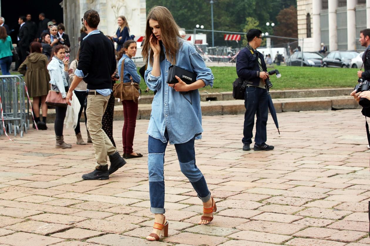 Milano Fashion Week Street Style: 24 Settembre 2012