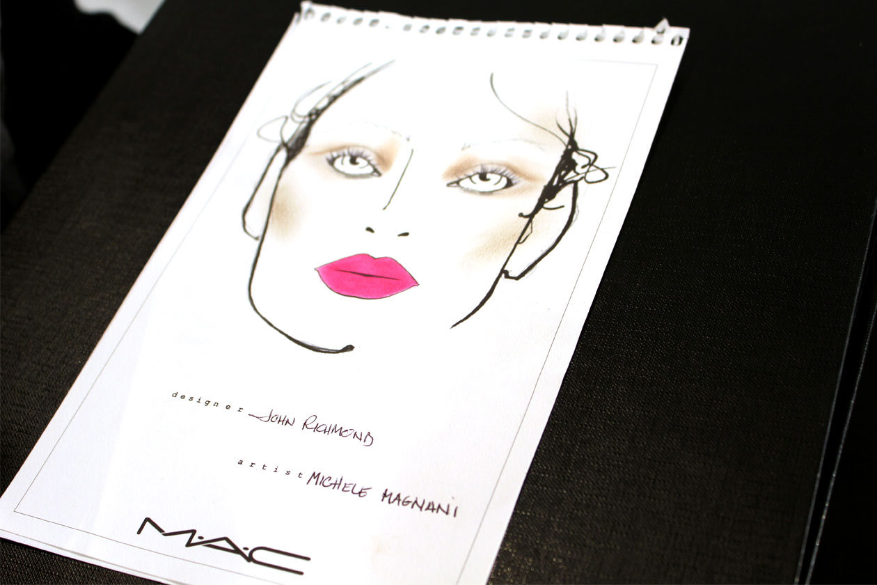Backstage John Richmond: ispirazione Brigitte Bardot per la Primavera 2013